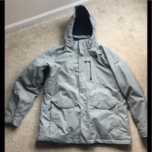 The north face 2 in 1 winter coat, sz XL